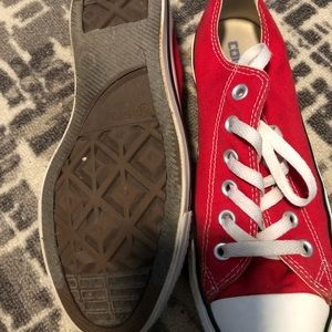 Converse Shoes - Red converse all stars